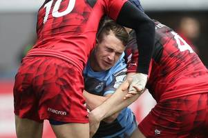 cardiff blues have unearthed a young gem as their season now stands on the brink