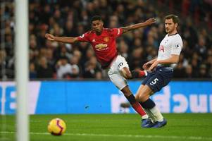 manchester united boss makes big claim about in-form marcus rashford amid harry kane's injury