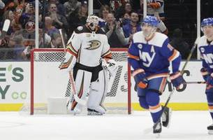 ducks conclude road trip with 3-0 loss to islanders