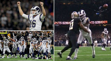Conference Championship Game Takeaways: A Monster Kick, Goff Delivers, and a Horrific Missed Call Send Rams to Super Bowl