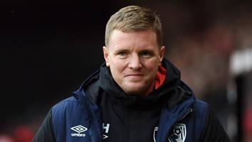 eddie howe pleased with bournemouth's win over west ham following difficult run