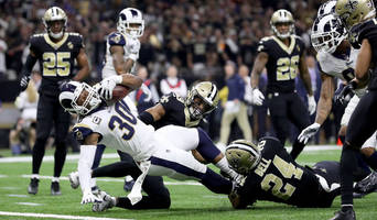 Rams RB Todd Gurley Didn't Touch Ball During Third Quarter of NFC Championship