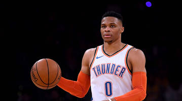 russell westbrook asked if he's cool with joel embiid: 'f--- no'