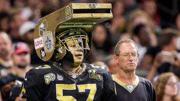 Saints Fan Loudly Whistling at the NFC Championship is Known as 'Whistle Monsta'