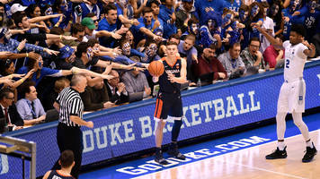 Watch: Virginia Cans Buzzer-Beating Jumper for Crazy Cover vs. Duke