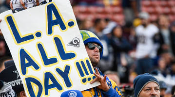 when did the rams move to los angeles?