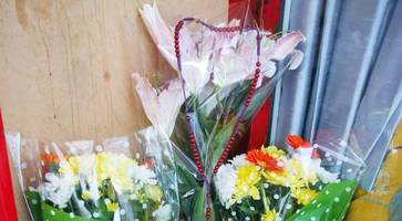 flowers left for homeless man found dead in belfast