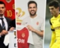 completed premier league 2018-19 summer transfers, january deals & expiring contracts