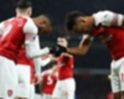 arsenal's aubameyang hails lacazette's impact in chelsea win