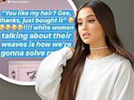 Ariana Grande says 'it's never my intention to offend anybody'... amid backlash for her song 7 Rings