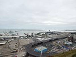 belgian man and woman arrested at dover on suspicion of terrorism