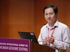 china confirms birth of gene-edited babies, vows to punish scientist who 'acted on his own'