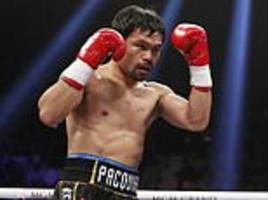 Manny Pacquiao's Los Angeles home is 'ransacked by burglars'