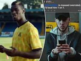 paul pogba's mother takes on twitter trolls as she stars in hilarious advert with man united star