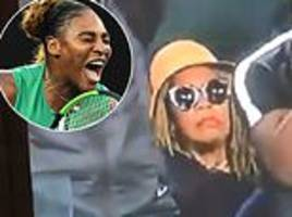 serena williams' mother goes viral after sitting stony-faced during australian open win