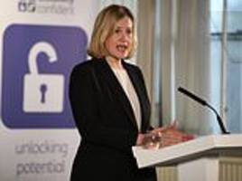 amber rudd warns up to 40 ministers could quit government