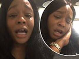 azealia banks breaks down after claiming she was banned from aer lingus flights
