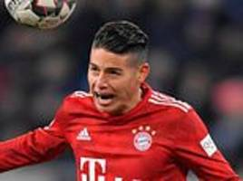 james rodriguez 'staying at bayern munich until end of his loan at least'