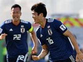 takehiro tomiyasu guides japan into the asian cup quarter-finals for eighth consecutive tournament
