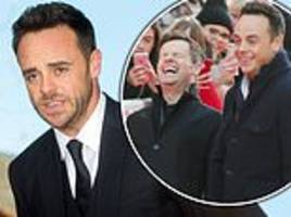 Ant McPartlin reveals his drink-drive arrest caused tensions with 'FURIOUS' Declan Donnelly