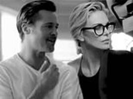 brad pitt connected with his rumored love charlize theron during photoshoot six months ago