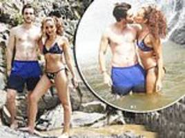 little mix's jade thirlwall shares a sweet smooch with beau jed elliott during thailand break