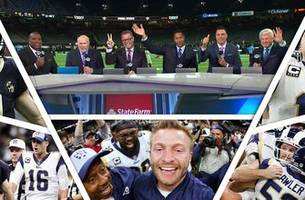 fox nfl crew break down rams, saints 2019 nfc championship game
