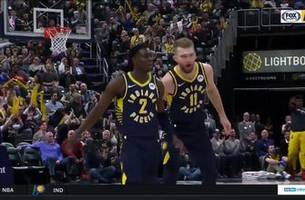 watch: pacers score 120 behind five double-digit efforts