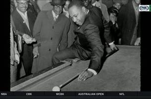 martin luther king, jr.: a pool shark for the people
