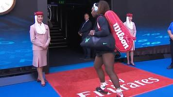 Australian Open: Serena Williams retreats after walkout mix-up