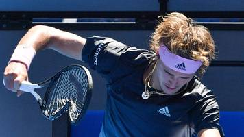 Fourth seed Zverev beaten by Raonic at Australian Open