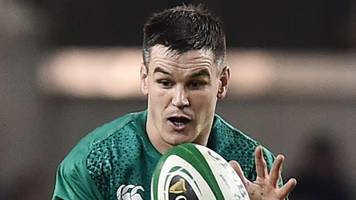 six nations: leinster boss cullen confident ireland fly-half sexton will return for opener against england
