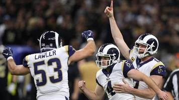 NFL: Los Angeles Rams beat New Orleans Saints to NFC title after controversial call