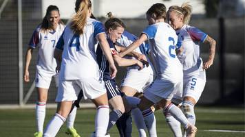 scotland 1-2 iceland: shelley kerr says side have 'learnt a lot' from la manga trip
