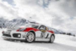 porsche plots its return to rally racing with 718 cayman