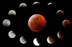 take a look at some of the world's best photos of the blood moon
