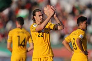 jackson irvine to miss hull city's trip to blackburn as australia hold nerve in asian cup