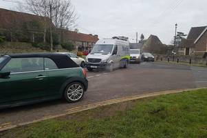 this is why there was gridlock in north east bristol and south gloucestershire this morning