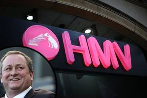 newcastle united and sports direct boss mike ashley 'in talks' to buy hmv
