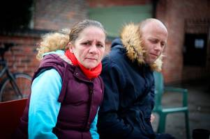 couple who lived under trent bridge for two years fear being made homeless again