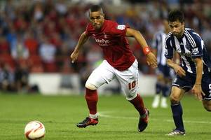 colin calderwood and lewis mcgugan could be set for a nottingham forest old boys' reunion at cambridge