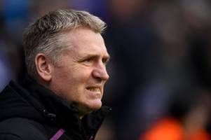 'i've probably been guilty' here's dean smith's message to the villa park boo boys