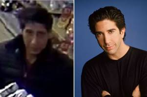 David Schwimmer's Ross from Friends 'lookalike' Abdulah Husseini arrested in theft probe