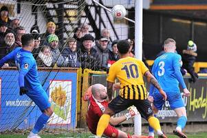 craig elliott rues lack of luck after boston united are held by leamington