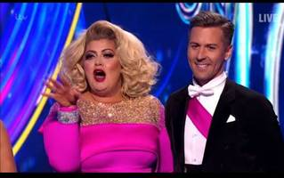gemma collins clash with dancing on ice judge sparks ofcom complaints