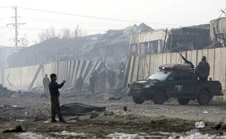 [update] taliban attack kills at least 12 at afghanistan military compound