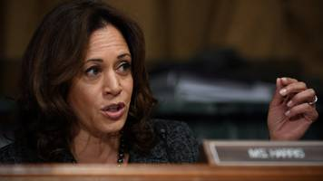 kamala harris 'excited' to run for president