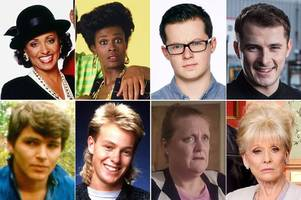 Legendary soap characters who've returned to the screen with a totally different face