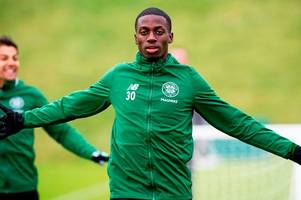 timothy weah does 'the broony' as celtic prepare for st mirren - 6 of the best images from lennoxtown