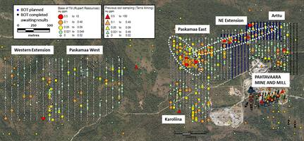 rupert resources delineates further gold anomalies at the pahtavaara project